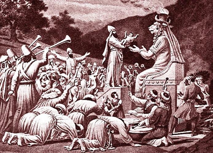 sacrifici a Moloch