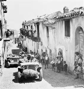 americani in Sicilia