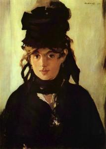 Ritratto della pittrice Berthe Morisot, soggetto di tanti suoi quadri