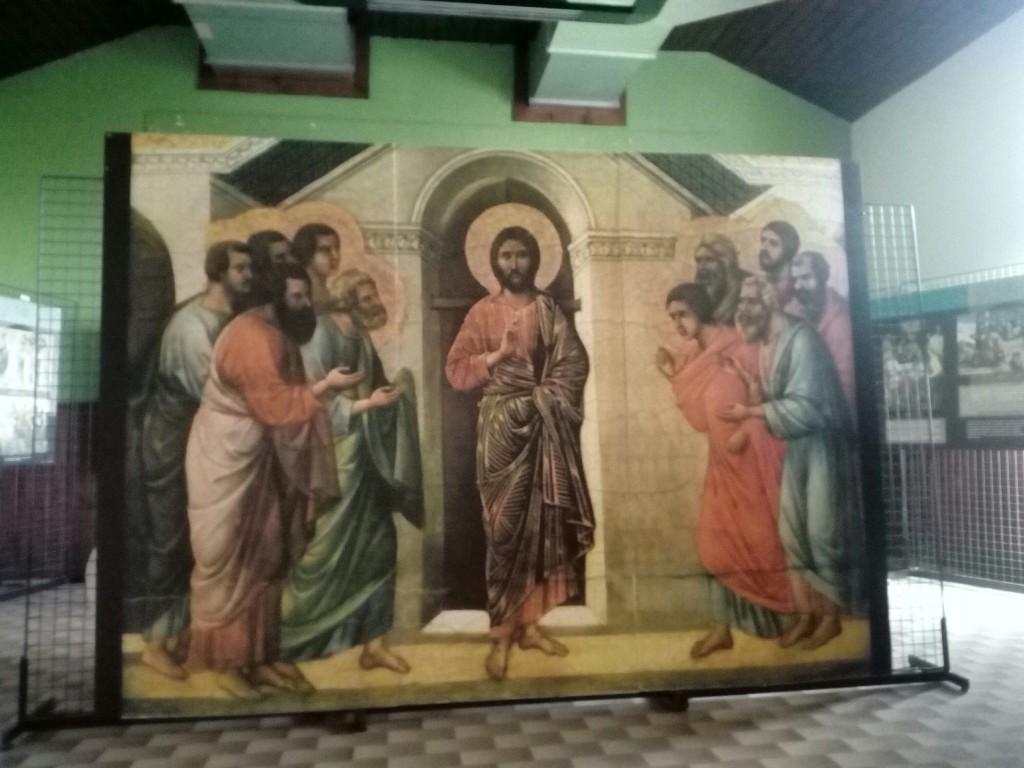 Gesù appare a porte chiuse (Duccio di Boninsegna)