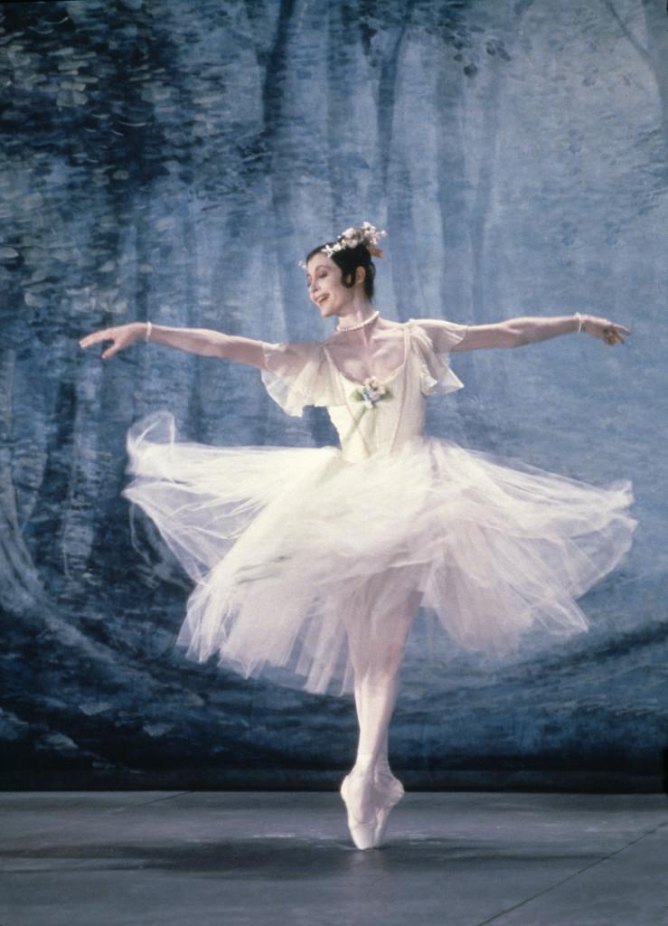 Carla Fracci, La Sylphide 1985