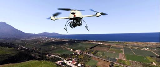 drone per controllare il territorio