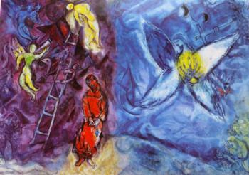 il sogno di Giacobbe - Marc Chagall